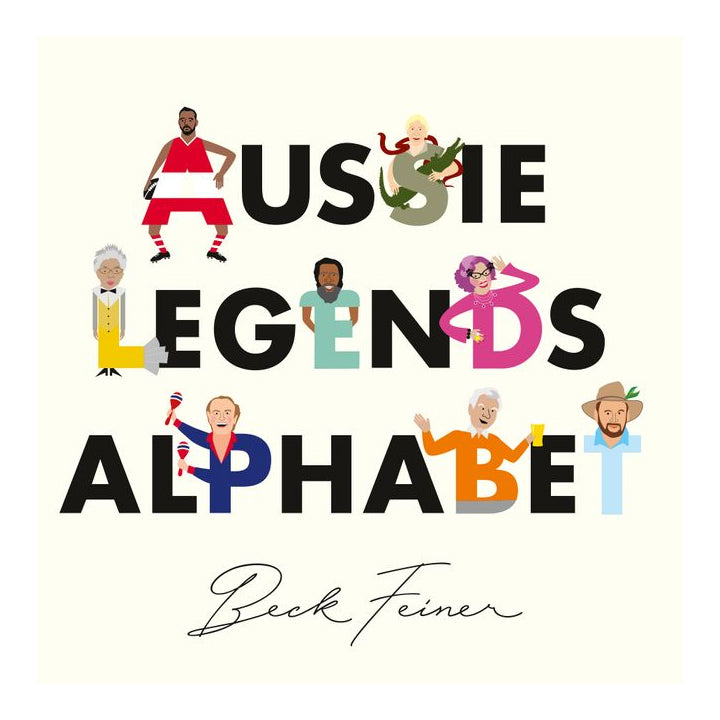 Aussie Legends Alphabet - Beck Feiner