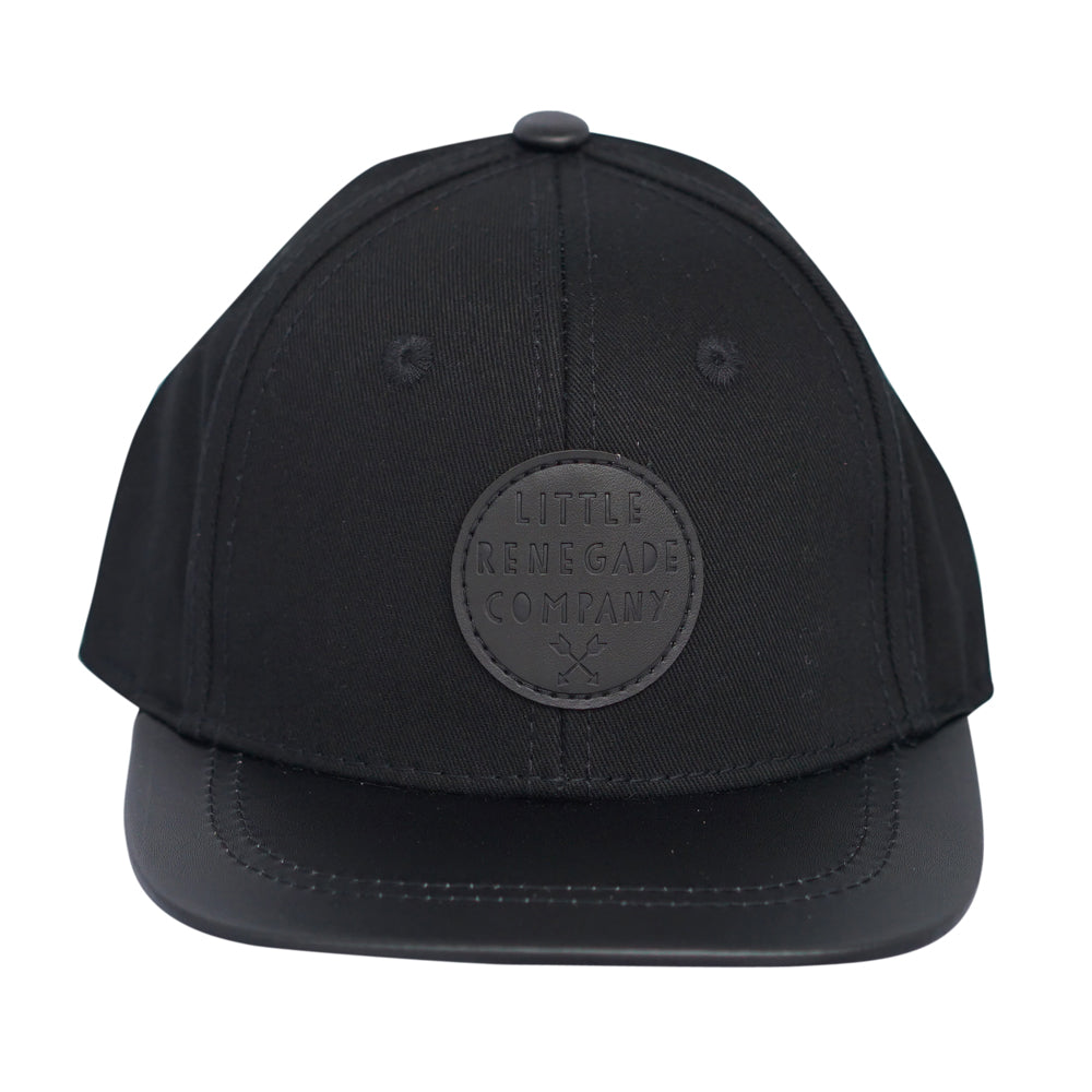 LITTLE RENEGADE COMPANY - Black on Black Cap