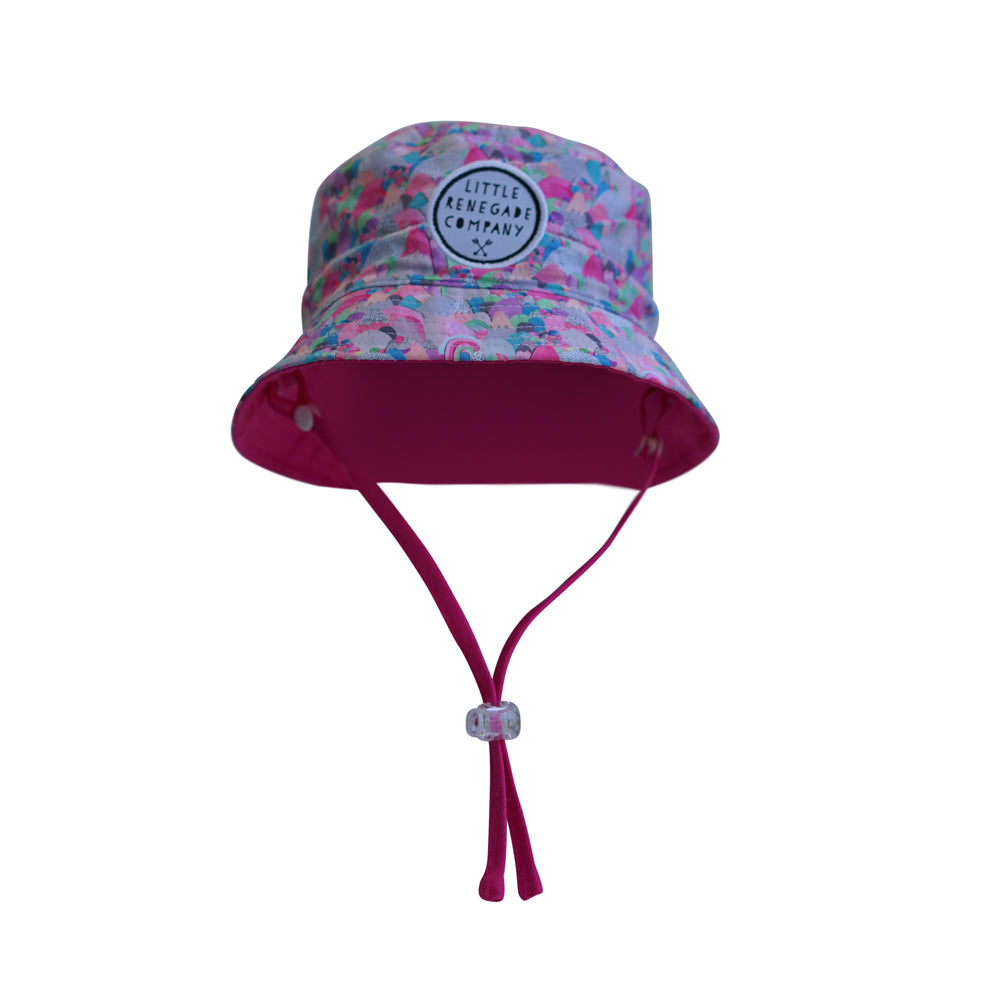 LITTLE RENEGADE COMPANY - Sugar Mountains Reversible Bucket Hat