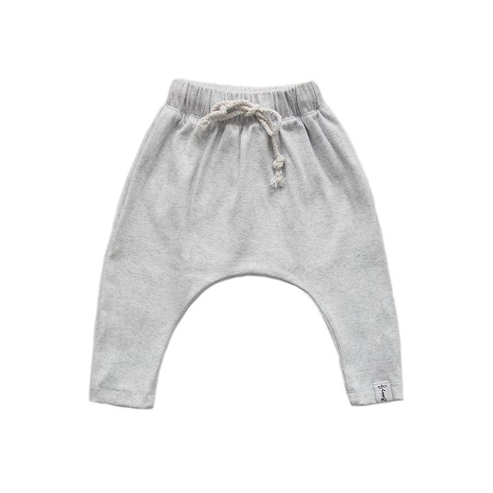 BOBBY G - Heather Grey Harem Pants