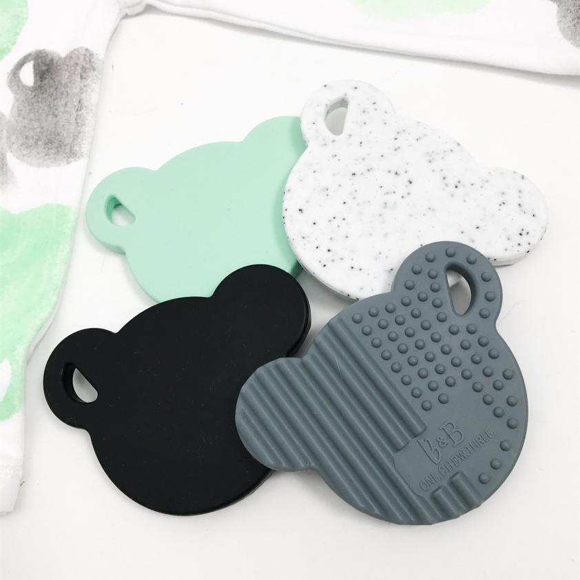 ONE CHEW THREE - BEAR Silicone Teething Disc