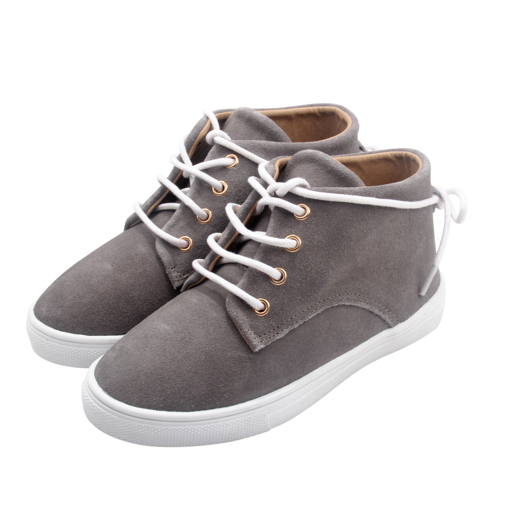 WILD CHASE - Grey | Gelato Suede Leather Sneaker