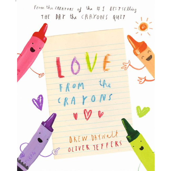 Love from the Crayons - Drew Daywalt