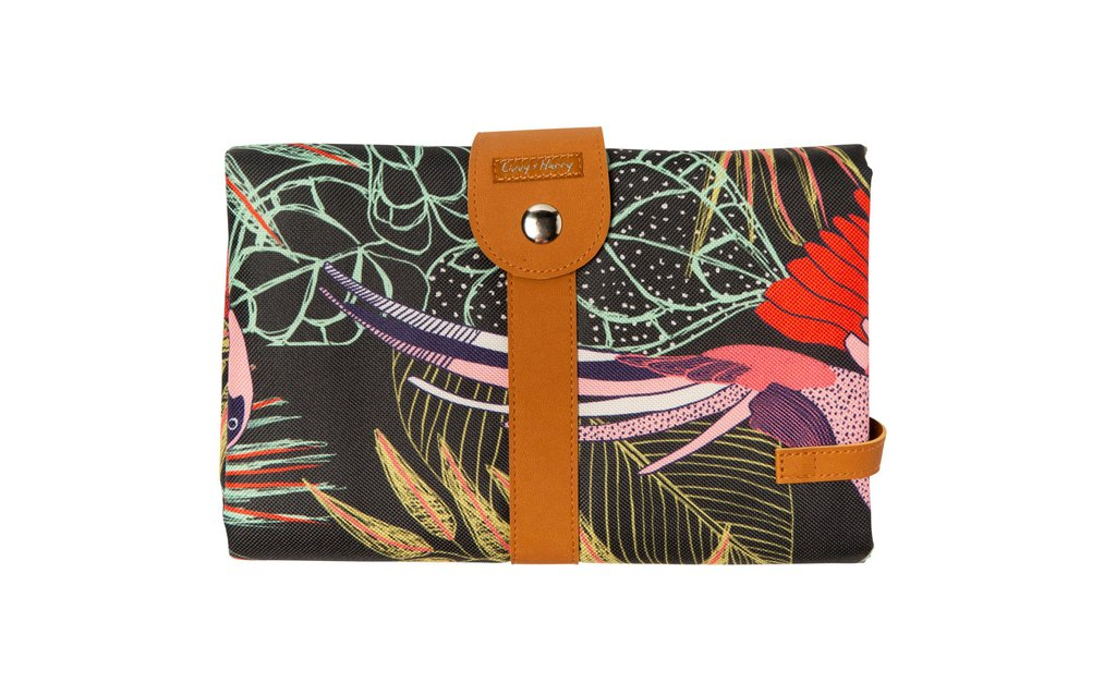 THE SOMEWHERE CO. - Bird Paradise Travel Baby Change Mat