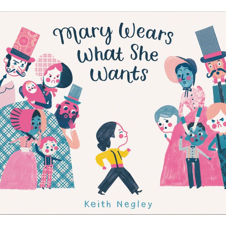 Mary wears what she wants - Keith Negley