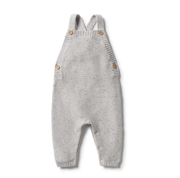 WILSON & FRENCHY - Knitted Overall | Grey Fleck