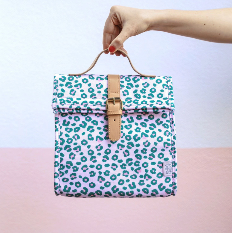 BLUSHING CONFETTI - Wild One Large Lunch Bag