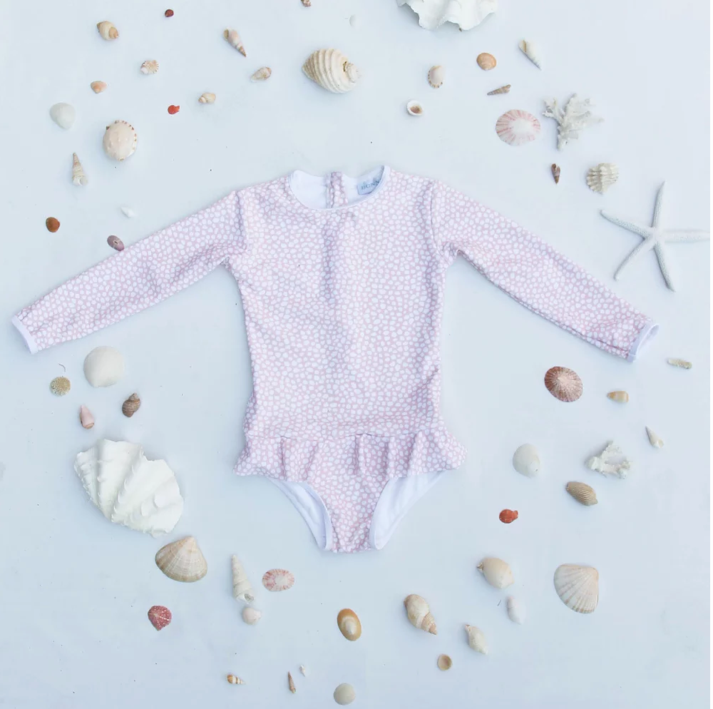 BONNIE SEAS - Ava Long sleeve swimsuit