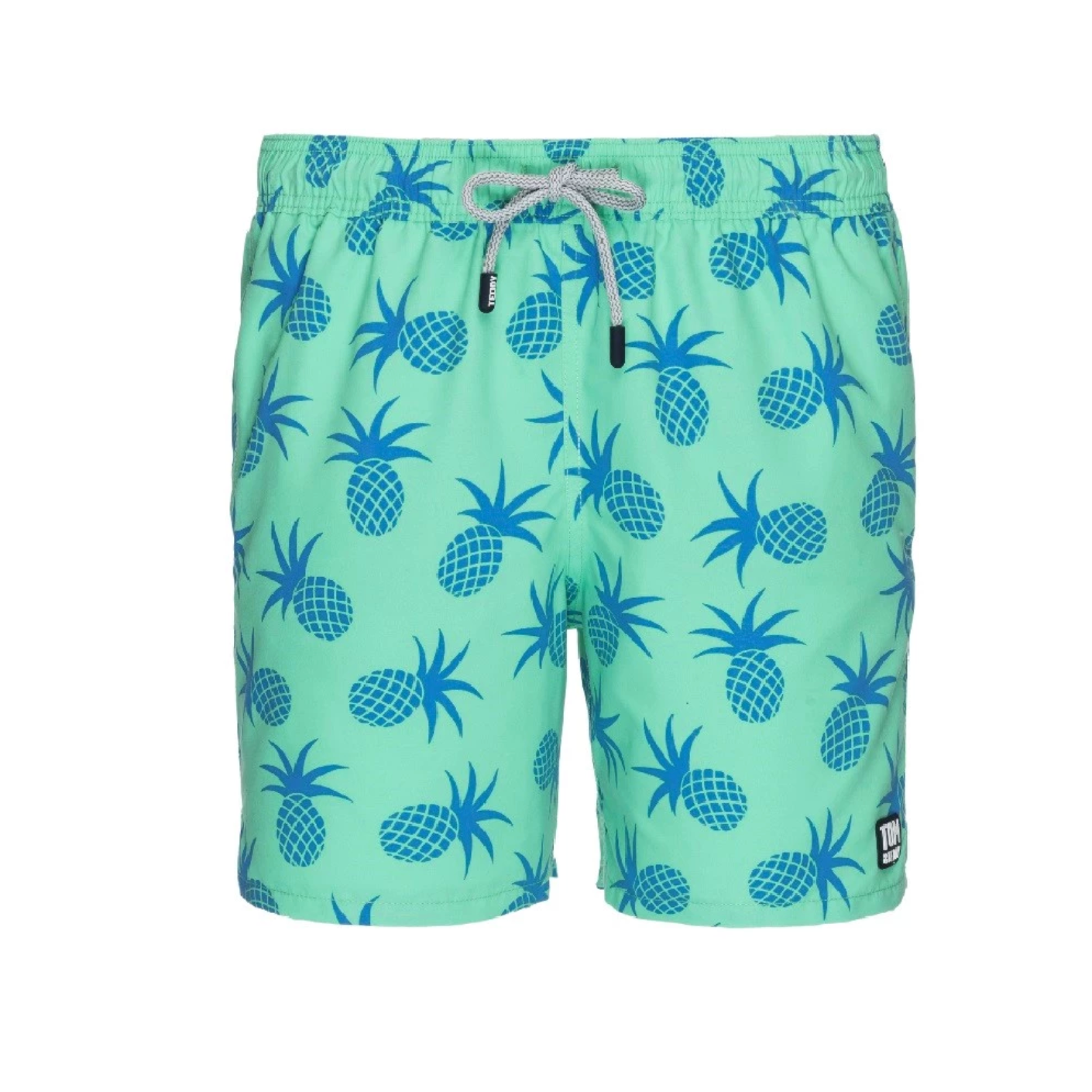 TOM & TEDDY - Mens Jade Green Pineapple