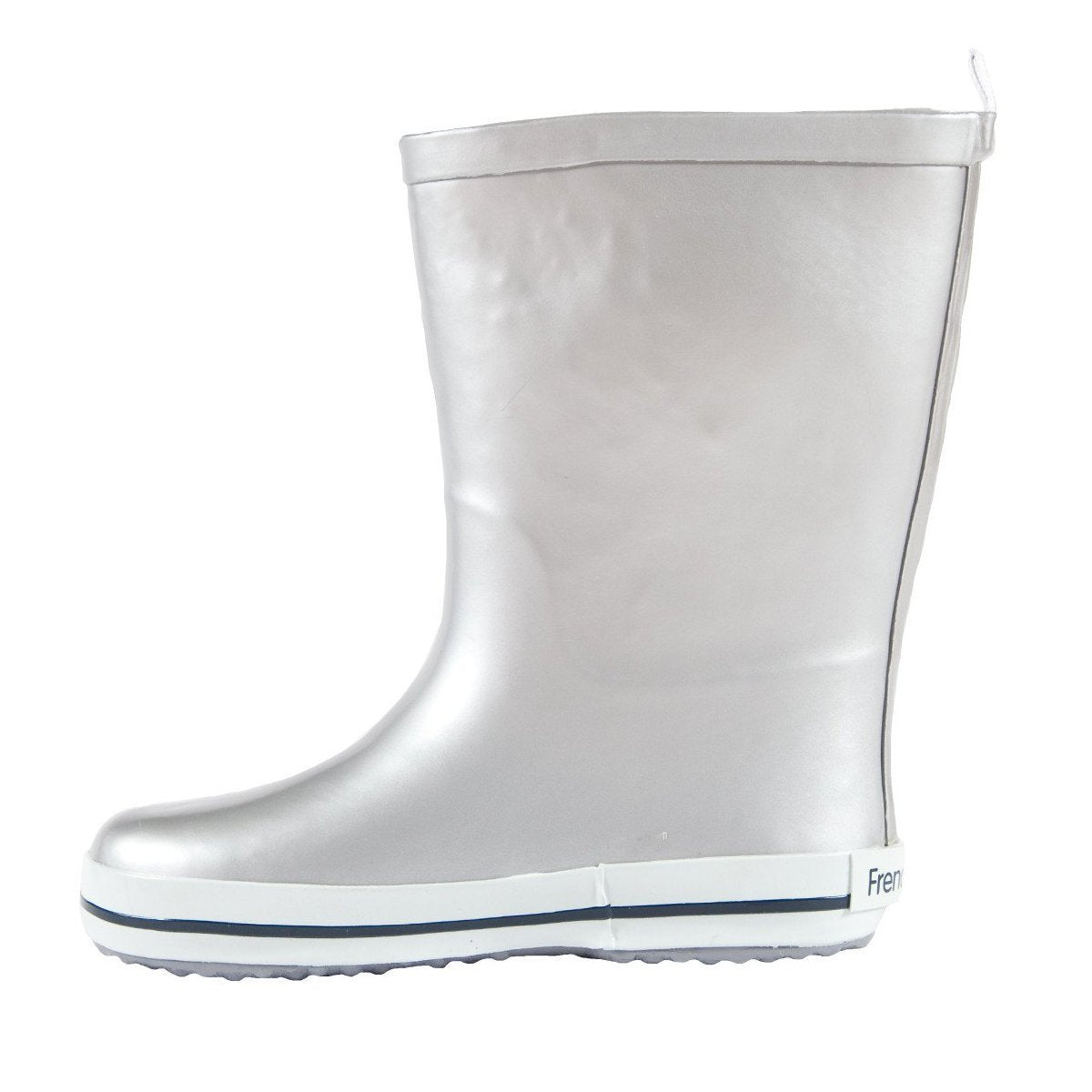FRENCH SODA - Kids Rubber Gumboot | Silver