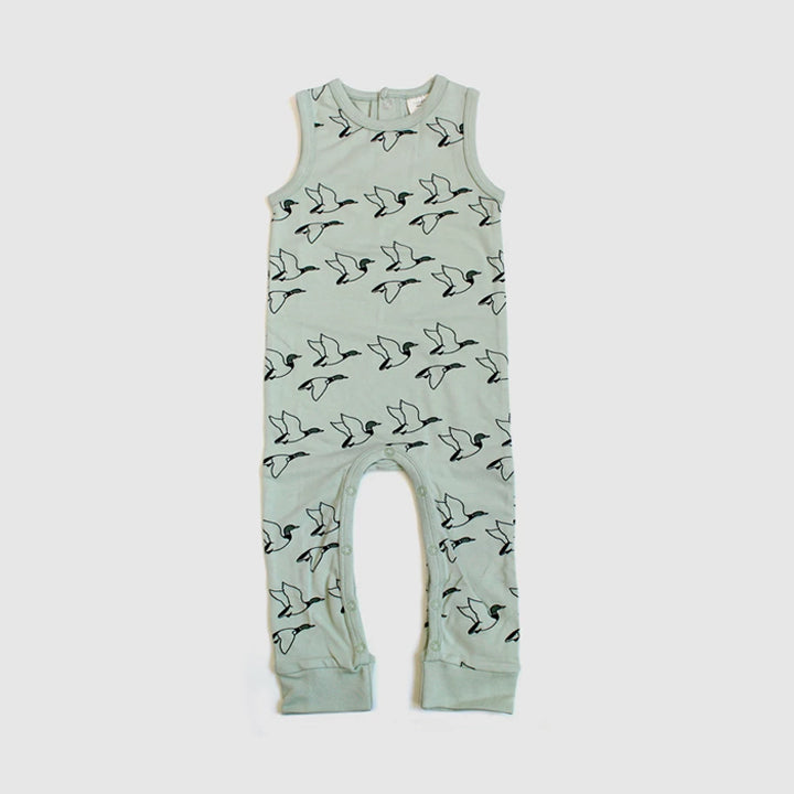 THE REST - Duck Sleeveless Playsuit