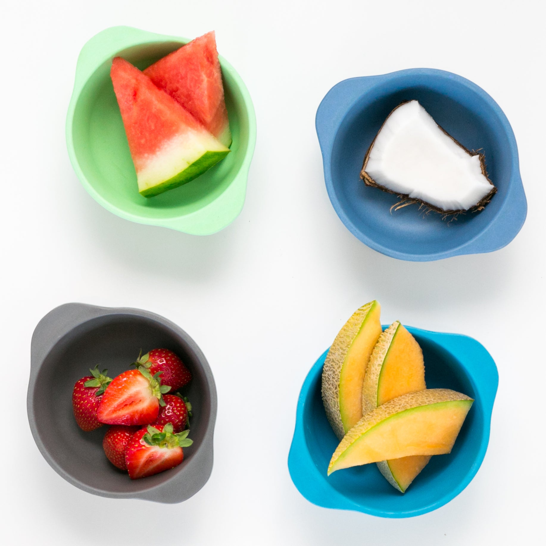BOBO & BOO - Coastal Bamboo Snack Bowl Set