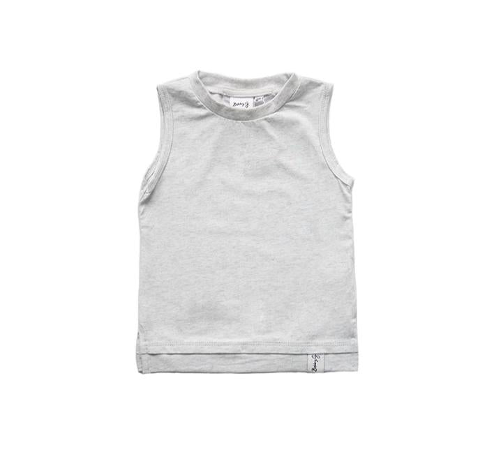 BOBBY G - Heather Grey Tank top