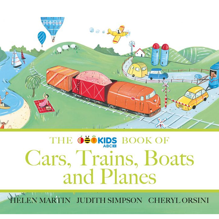 The ABC Book of Cars, Trains, Boats an Planes Board Book