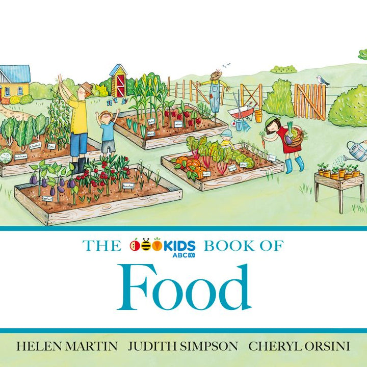 The ABC Book of Food Board Book - Helen Martin