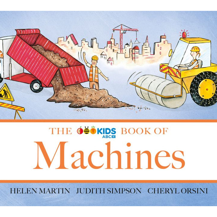 The ABC Book of Machines Board Book - Helen Martin