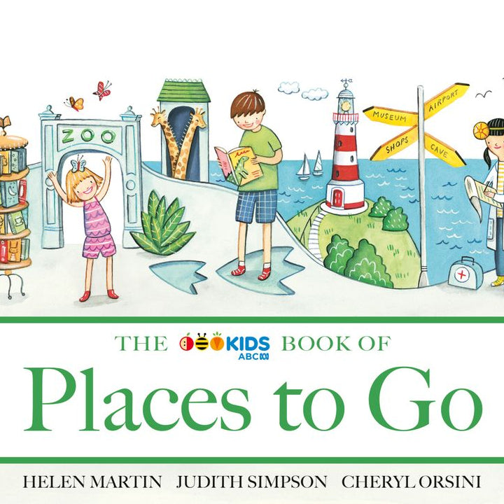 The ABC Book of Places to Go - Helen Martin