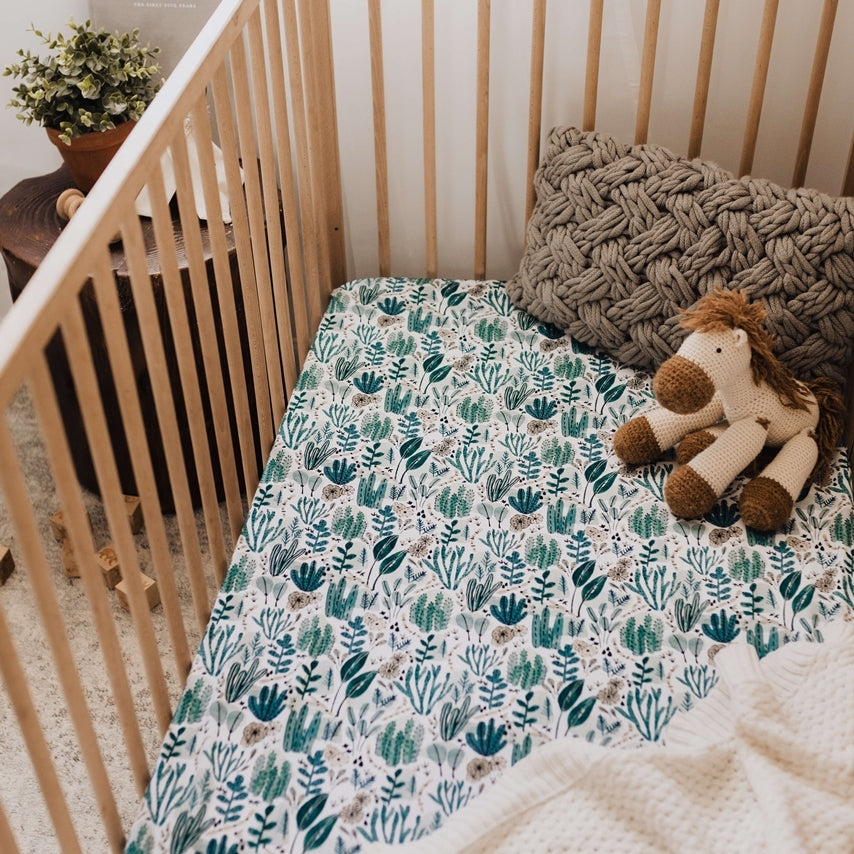 SNUGGLE HUNNY - Arizona | Fitted Cot Sheet