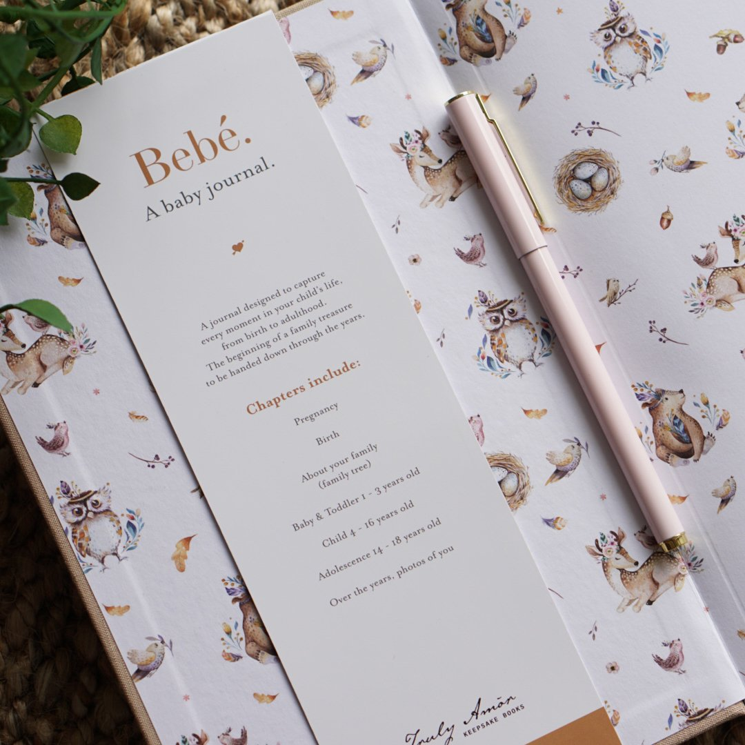 TRULY AMOR - Bebé. Keepsake Journal