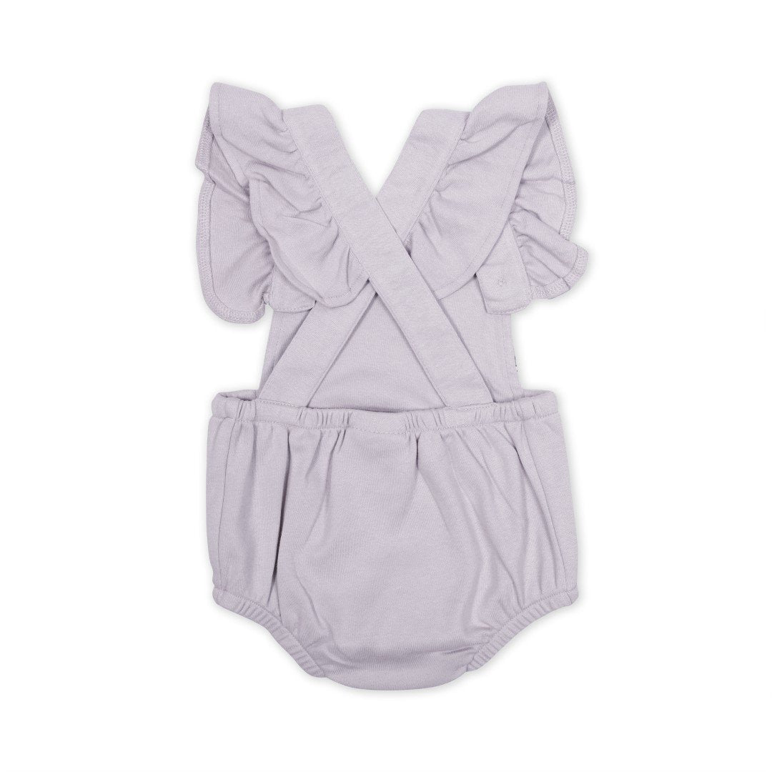 ASTER & OAK - Butterfly Cross Back Playsuit Iris
