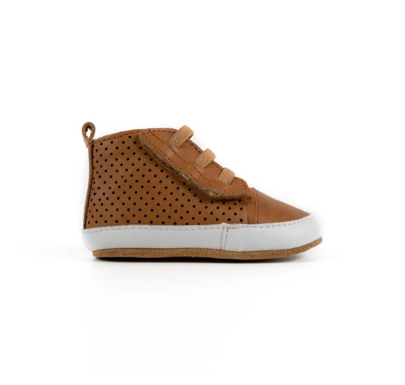 TIKITOT - Brooklyn Tan Prewalker Baby Shoe