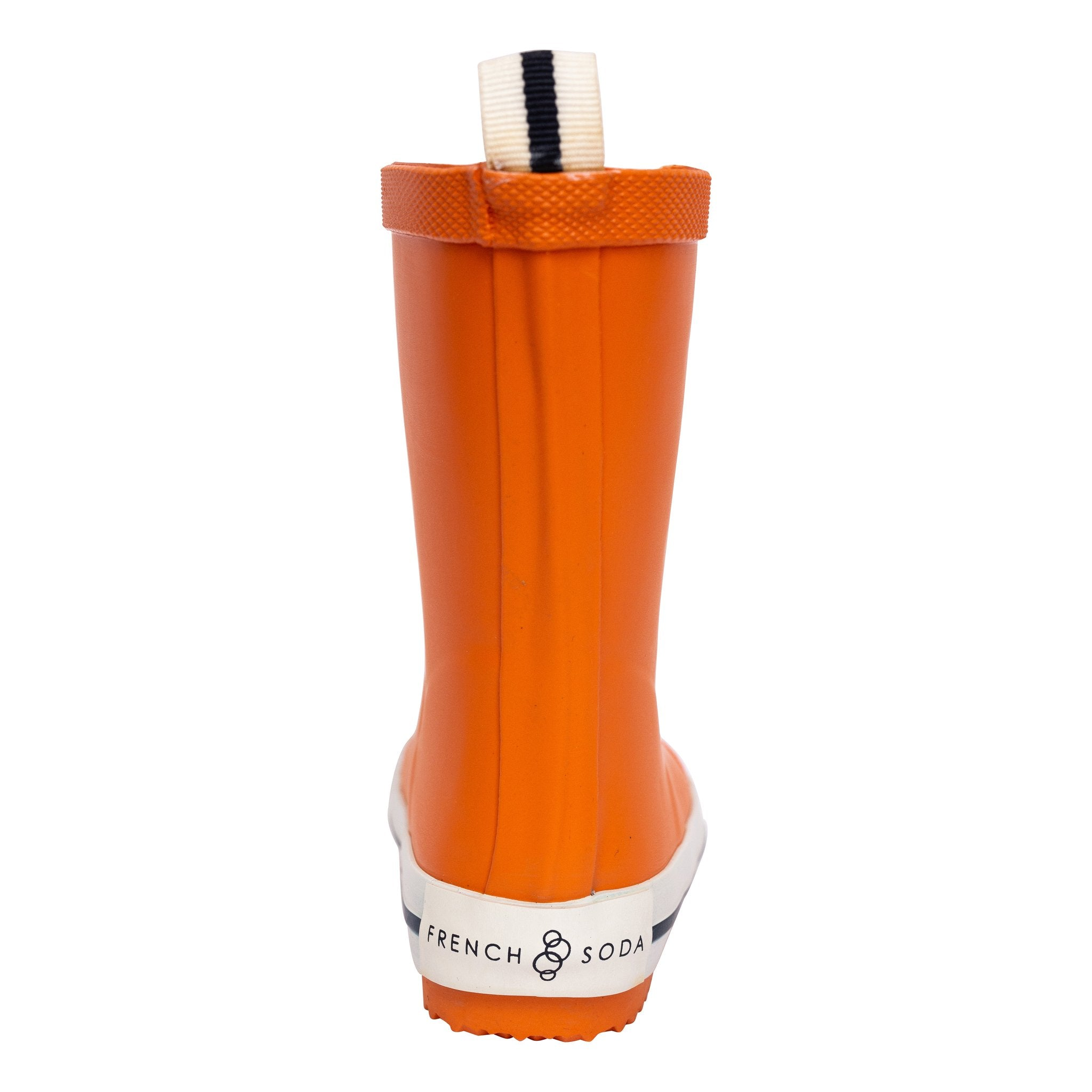 FRENCH SODA - Kids Rubber Gumboot | Orange