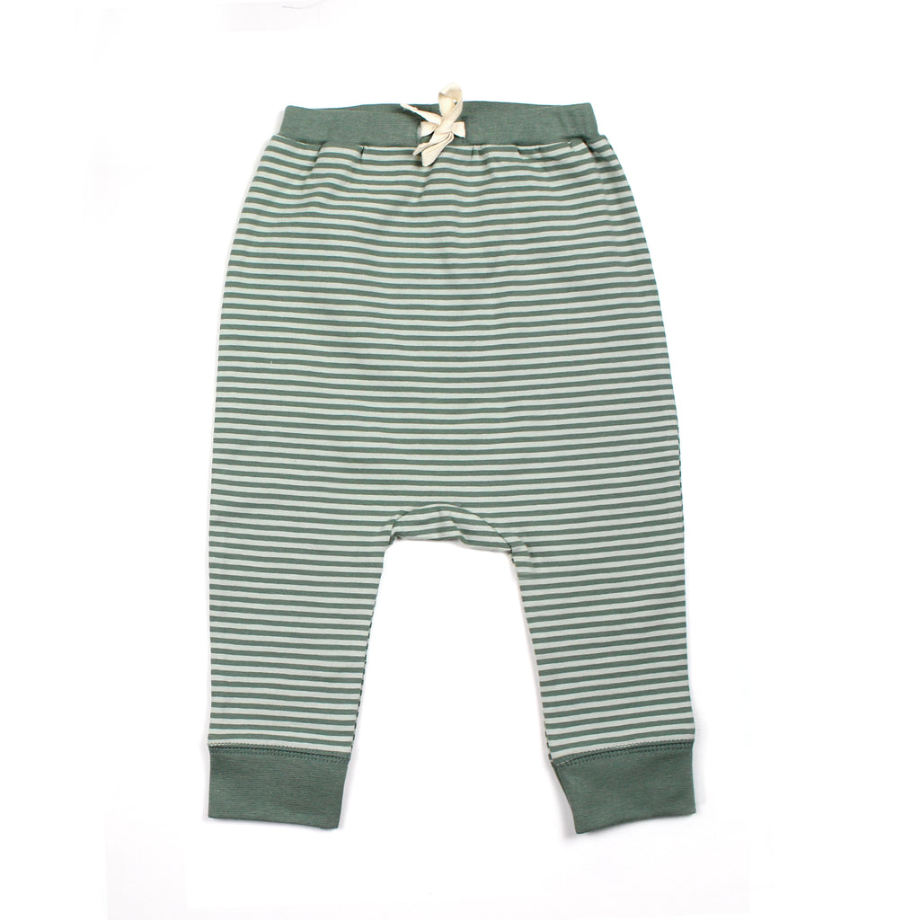 THE REST - Drawstring Pant | Seafoam Stripe