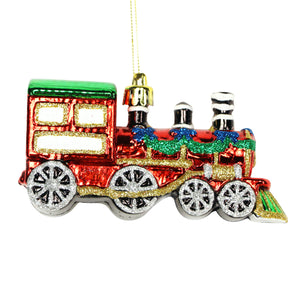 Coloured Acrylic Train Decoration
