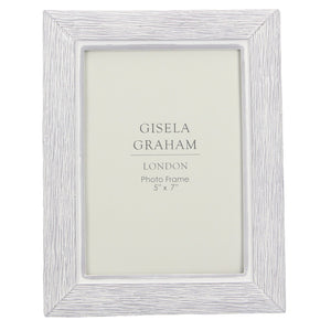 Resin Wood Effect 5x7cm Photo Frame