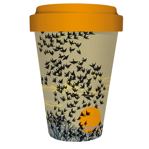 Reusable Bamboo Travel Mug - Aerial Manoeuvres