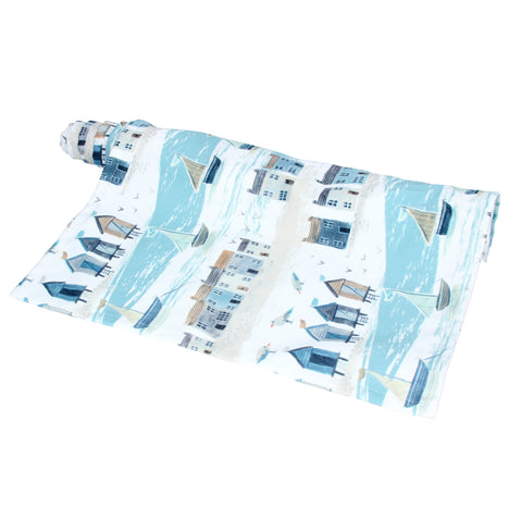 Gisela Graham Table Runner - Coastal Scene