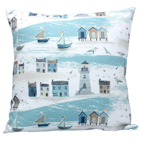Gisela Graham Cushion - Coastal Scene