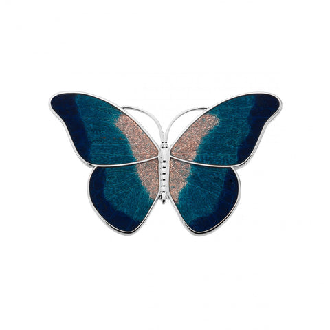 Butterfly Broach - Turquoise