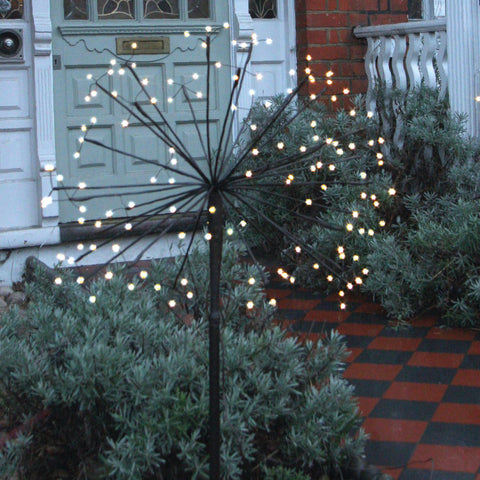 Outdoor Dandelion Solar Light - Large