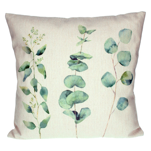 Gisela Graham Square Cushion - Eucalyptus