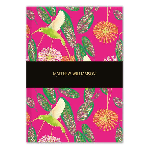 A5 Deluxe Notebook - Matthew Williamson Hummingbirds