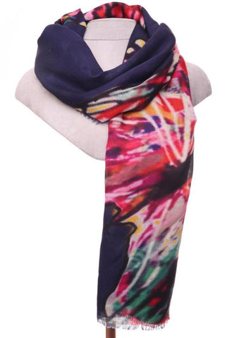 Florie Scarf - Navy