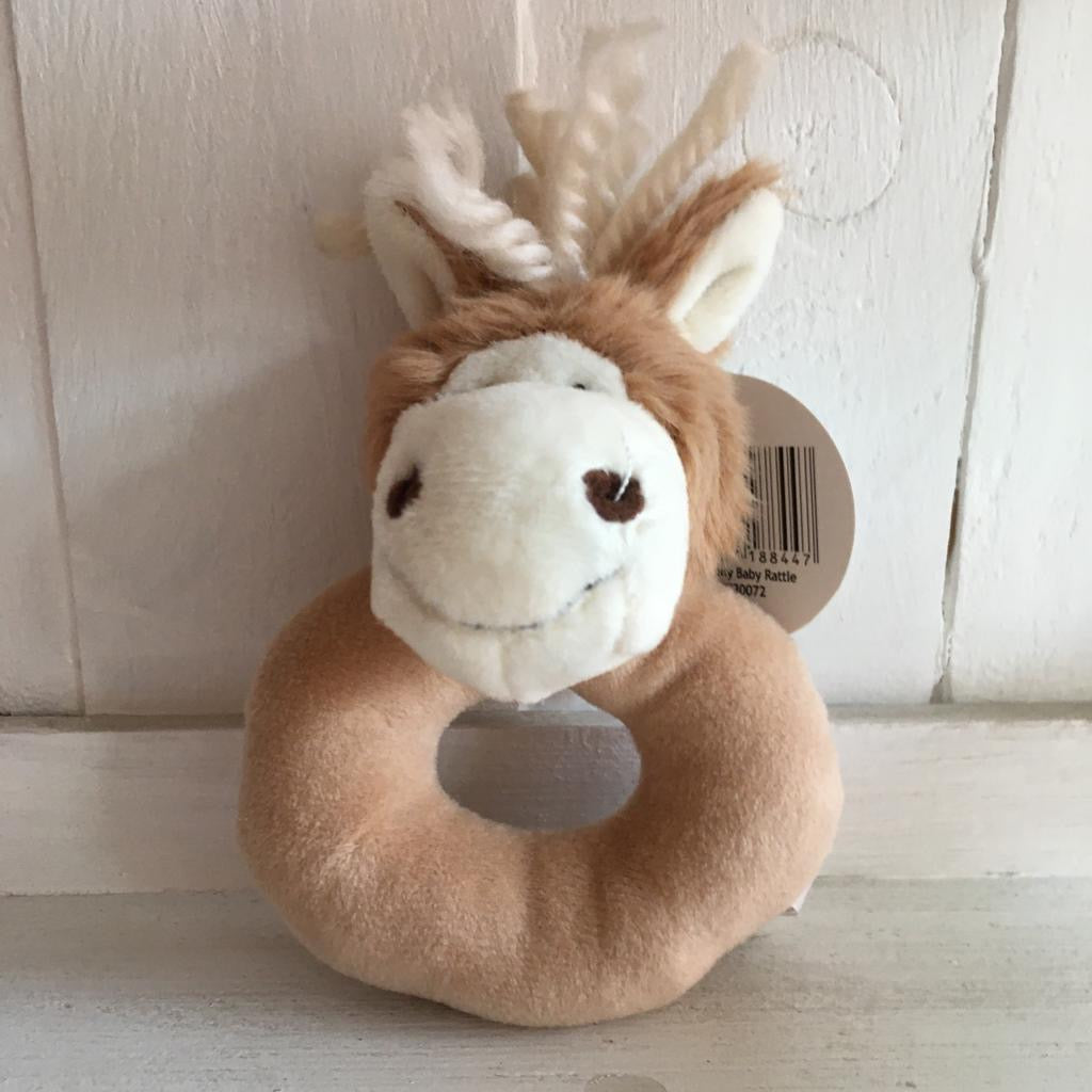 Soft Toy Rattle - Haffie the Pony