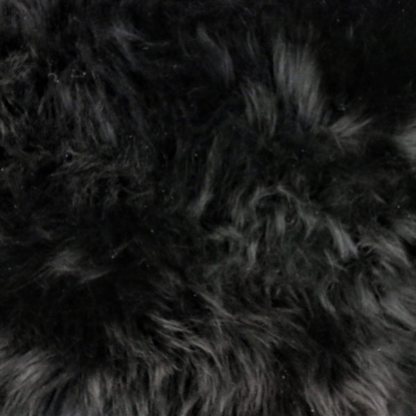 Single Sheepskin - Black