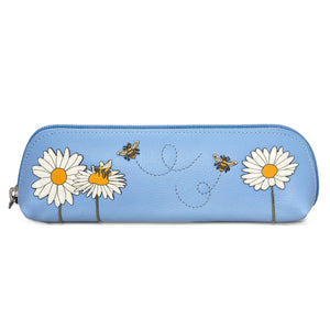 Leather Bee Pencil Case
