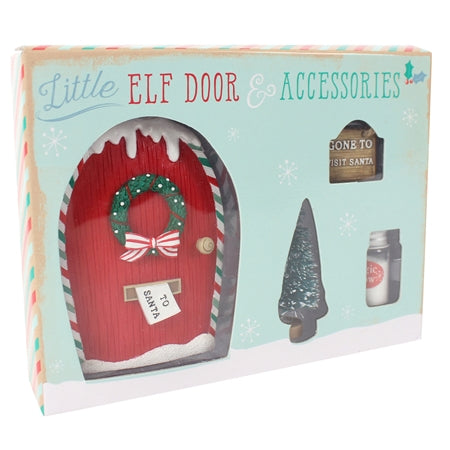 Little Elf Door & Accessories Giftbox