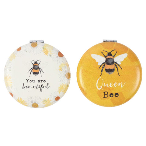 Compact Mirrors - Bee Designs