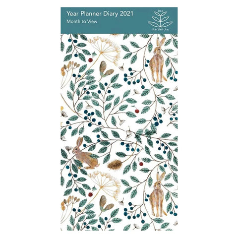 2021 Year Planner - Hares & Berries