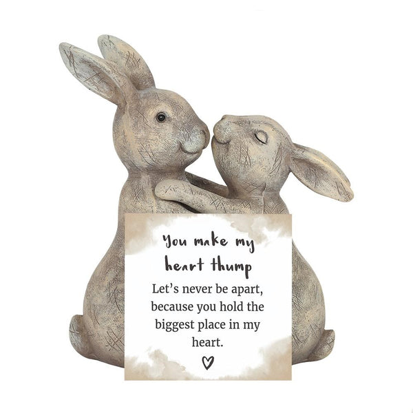 You Make My Heart Thump Rabbit Ornament