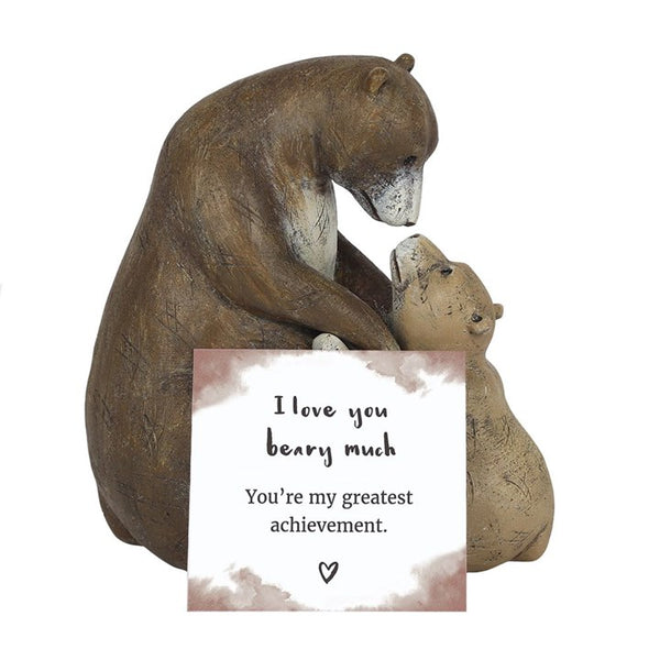 I Love You Beary Much Bear Ornament