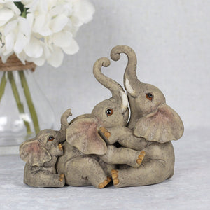 Elephant Family Ornament
