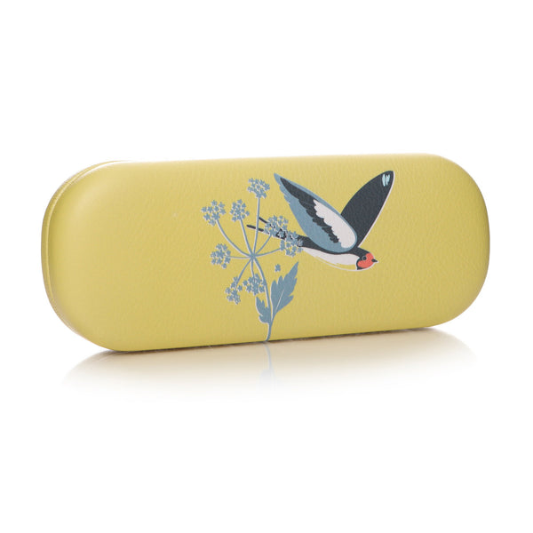 RSPB Glasses Case - Yellow Swallow