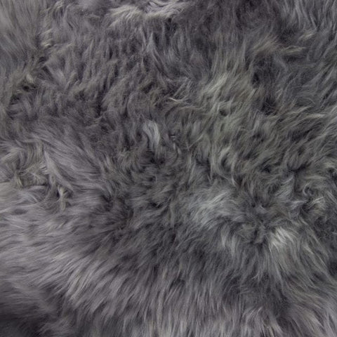 Single Sheepskin - Grey