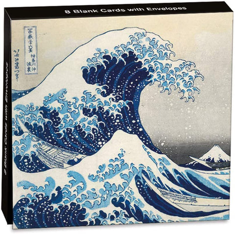 "Hokusai ""The Great Wave"" Pack of 8 Mini Notecards"
