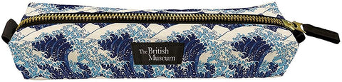 "Hokusai ""The Great Wave"" Slim Pencil Case"